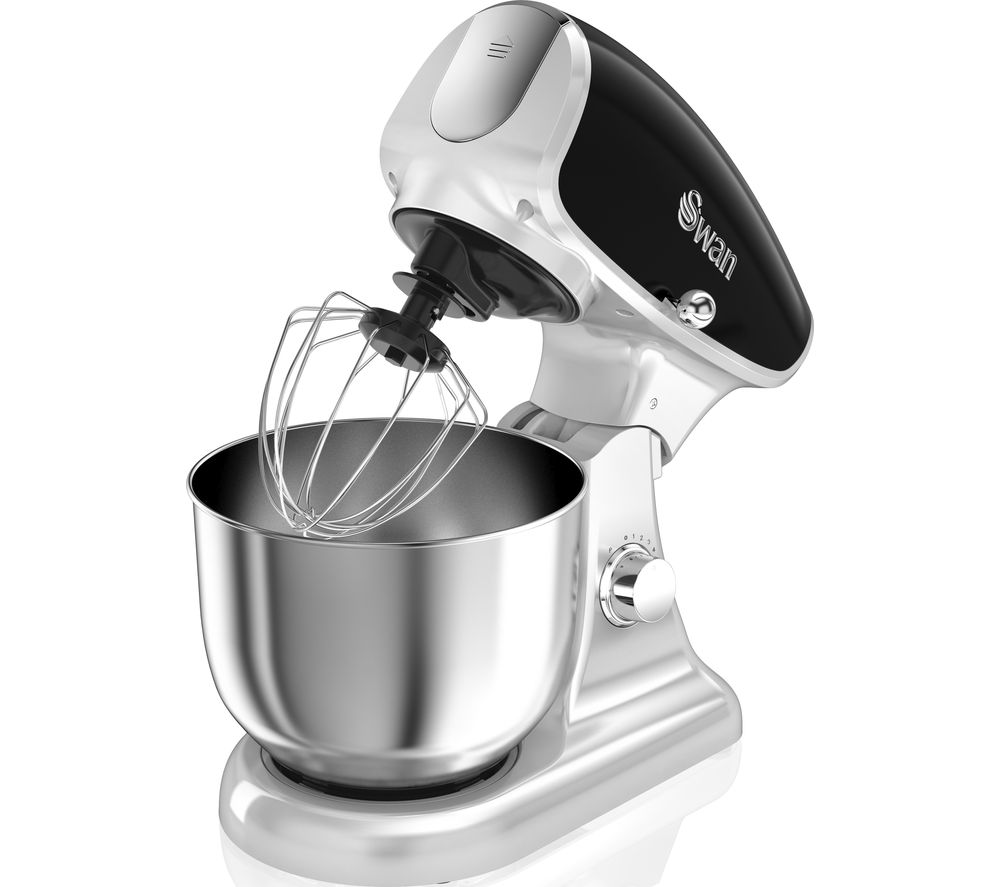 Image of Retro SP33010BN Stand Mixer - Black, Black