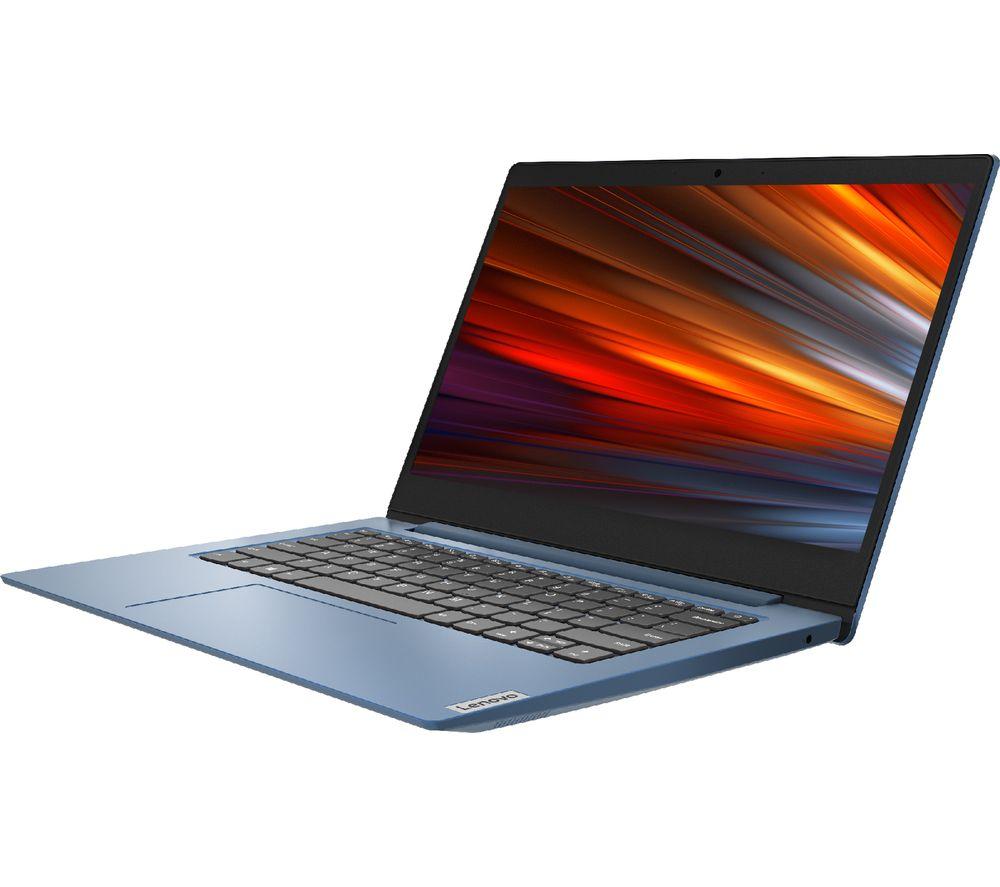 "LENOVO IdeaPad Slim 1 14"" Laptop - AMD A4, 64 GB eMMC, Blue"