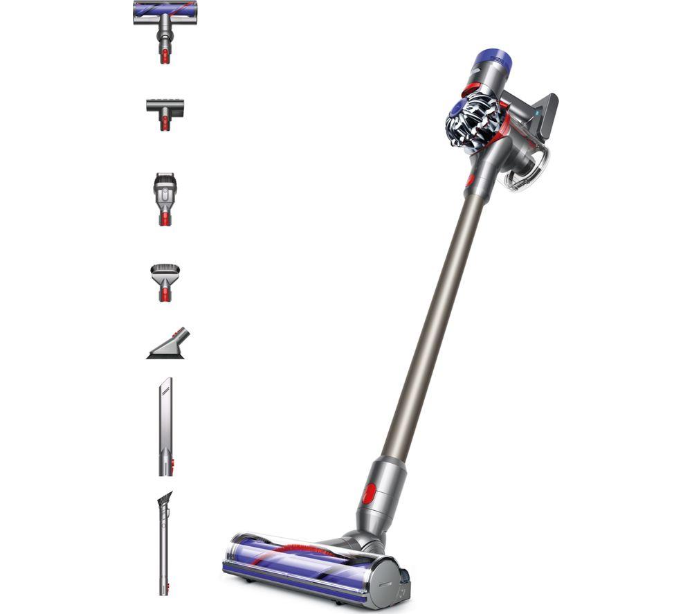 DYSON V8 Animal Extra Cordless Vacuum Cleaner - Nickel & Iron