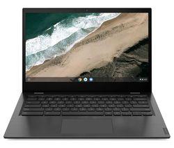 """LENOVO S345 14"""" Chromebook - AMD A4, 32 GB eMMC, Grey"""