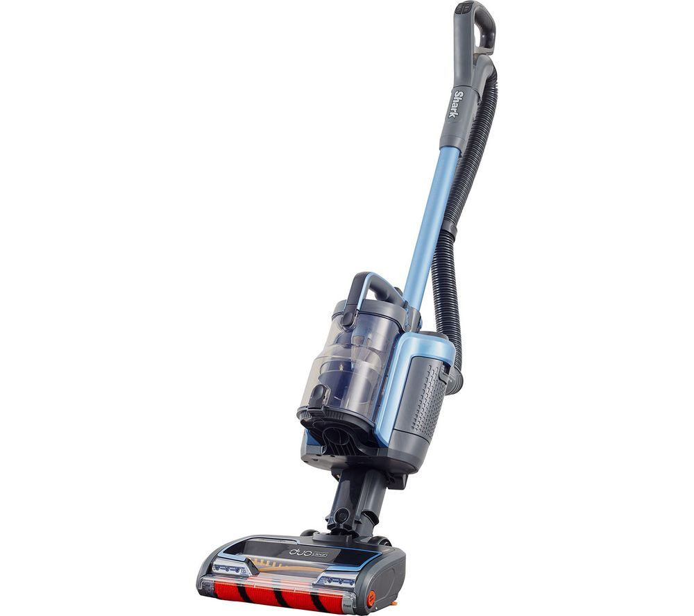 Image of SHARK DuoClean Anti Hair Wrap ICZ160UK Cordless Vacuum Cleaner with Powered Lift-Away - Blue, Blue