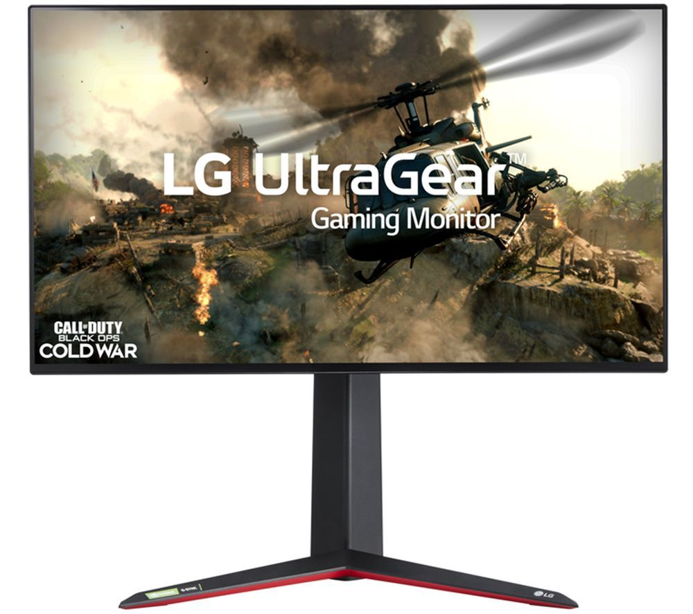 "LG UltraGear 27GN950 4K Ultra HD 27"" Nano IPS LCD Gaming Monitor - Black"