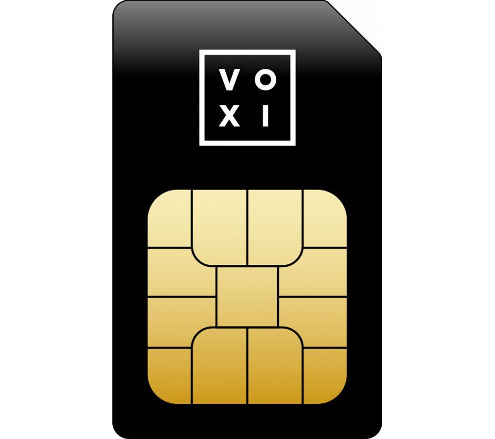 VOXI £20 SIM Card - 45 GB Data