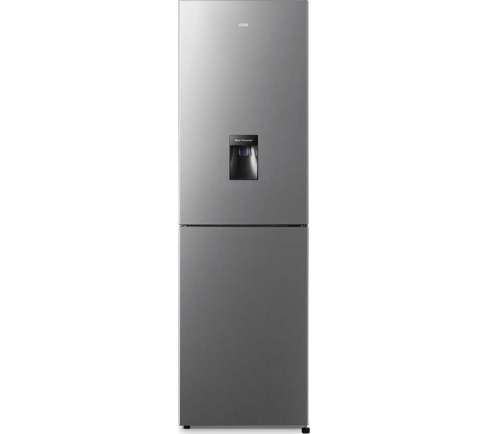 LOGIK LNFD55X20 50/50 Fridge Freezer - Inox