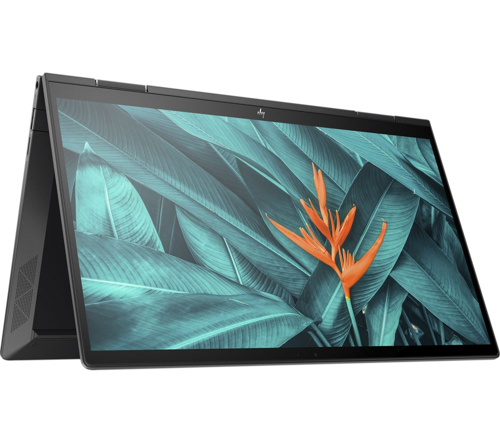"""Image of HP ENVY x360 13.3"""" AMD Ryzen 7 2 in 1 Laptop - 512 GB SSD, Black, Black"""