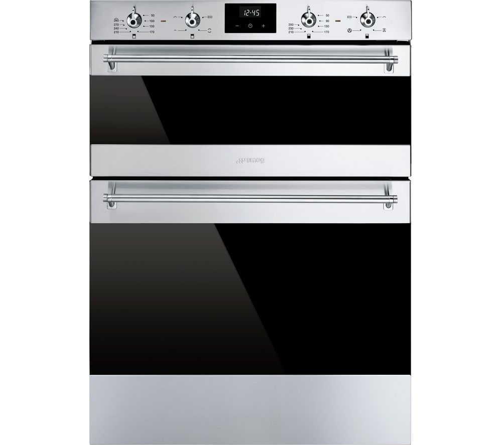 SMEG DUSF6300X Electric Built-under Double Oven - Stainless Steel