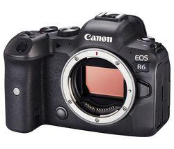 EOS R6 Mirrorless Camera - Body Only