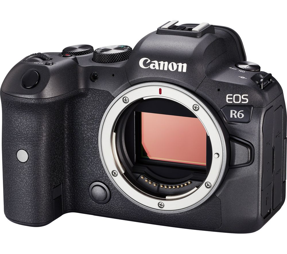 CANON EOS R6 Mirrorless Camera - Body Only