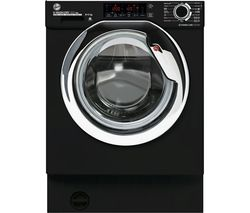 H-WASH & DRY 300 Pro HBDOS695TAMCBT WiFi-enabled Integrated 9 kg Washer Dryer - Black