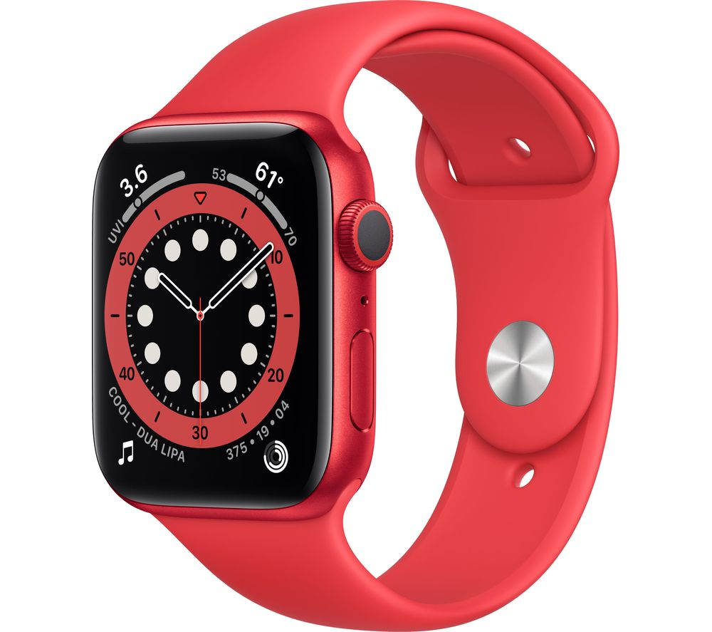 APPLE Watch Series 6 - PRODUCT(RED) Aluminium with PRODUCT(RED) Sports Band, 44 mm