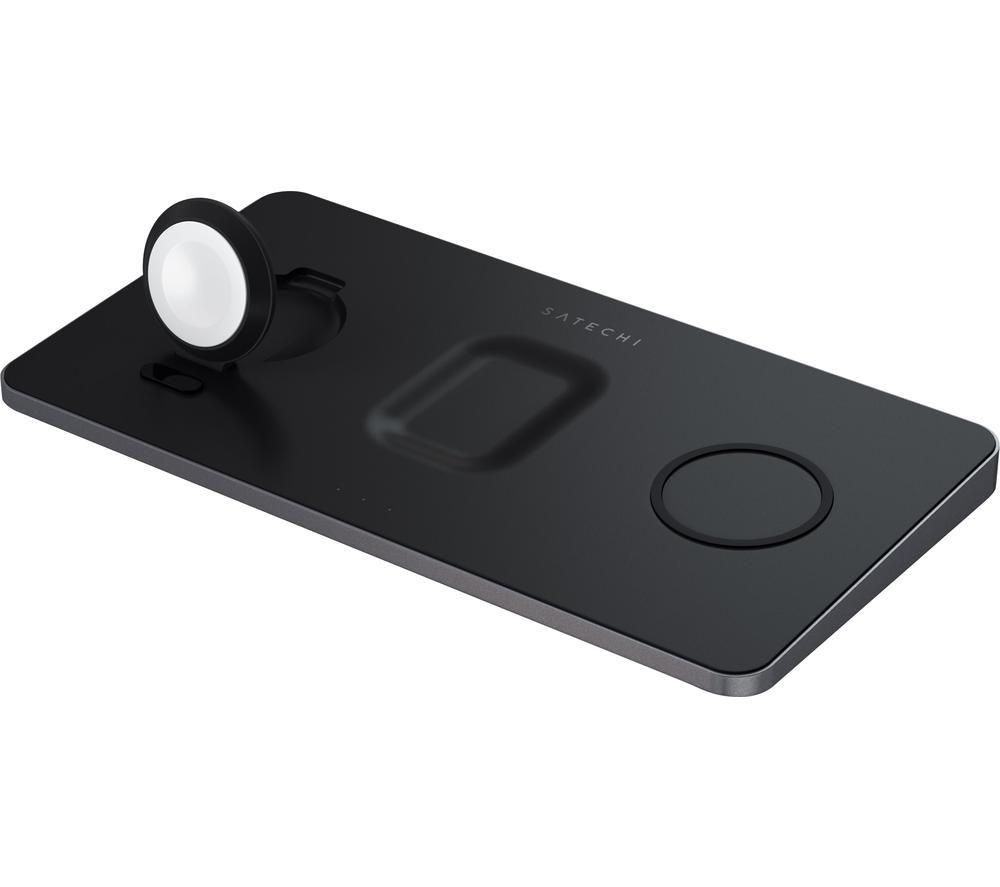 SATECHI ST-X3TWCPM Trio Qi Wireless Charging Pad