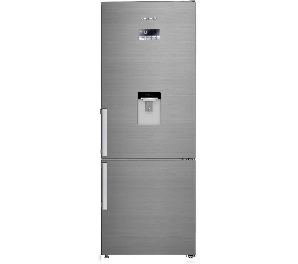 GRUNDIG GKN67920DX 60/40 Fridge Freezer - Stainless Steel