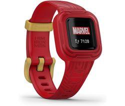 vivofit jr. 3 Kid's Activity Tracker - Marvel Iron Man, Adjustable Band