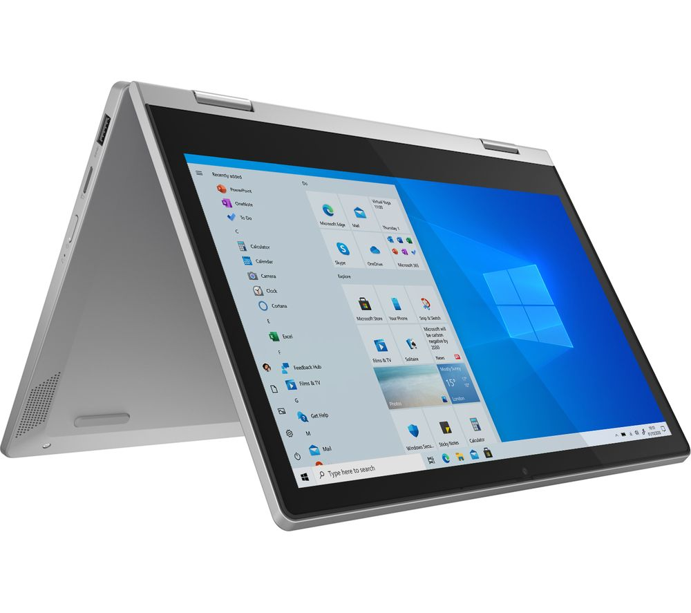 "Image of LENOVO IdeaPad Flex 3i 11.6"" 2 in 1 Laptop - Intel®Pentium Silver, 64 GB eMMC, Grey, Silver"