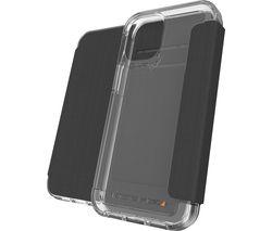 Wembley Flip iPhone 12 Mini Case - Black