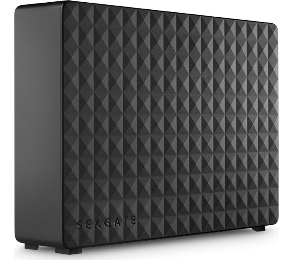 Image of SEAGATE Expansion External Hard Drive - 10 TB, Black
