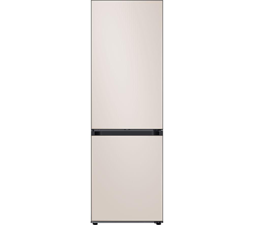 SAMSUNG Bespoke RB34A6B2E39/EU 70/30 Fridge Freezer – Beige, Beige