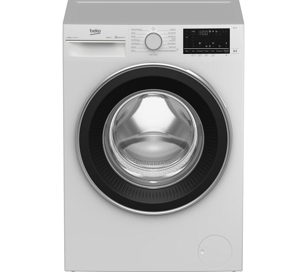 BEKO B3W51042IW Bluetooth 10 kg 1400 Spin Washing Machine - White