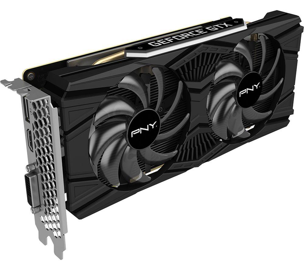 Image of PNY GeForce GTX 1660 Ti 6 GB Dual Fan Graphics Card