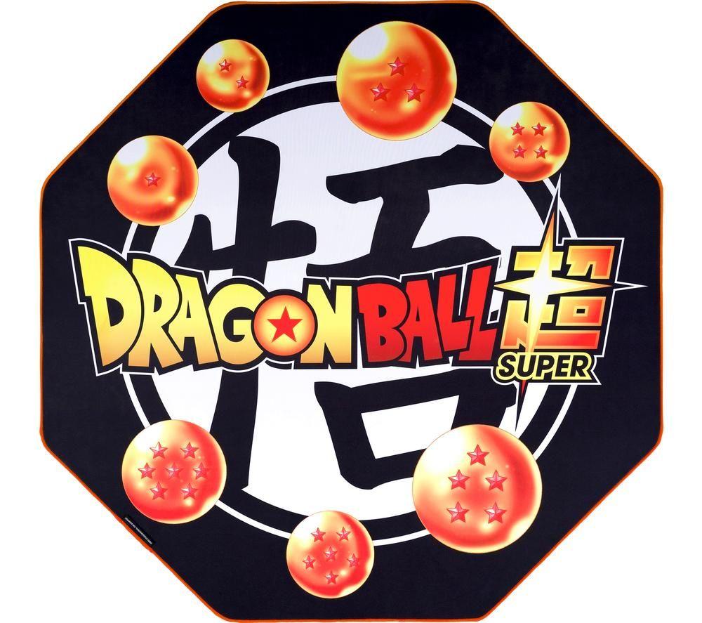 SUBSONIC Dragon Ball Super Gaming Chair Mat - Orange & Black, Orange