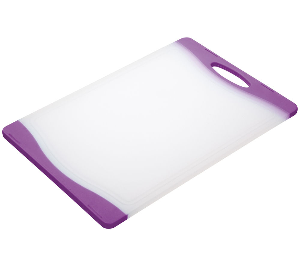 COLOURWORKS 35 cm x 24 cm Cutting Board - Purple
