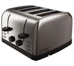 RUSSELL HOBBS Futura 18790 4-Slice Toaster - Stainless Steel