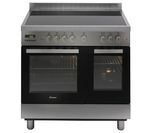 CANDY CCV9D52X Electric Ceramic Range Cooker - Stainless Steel