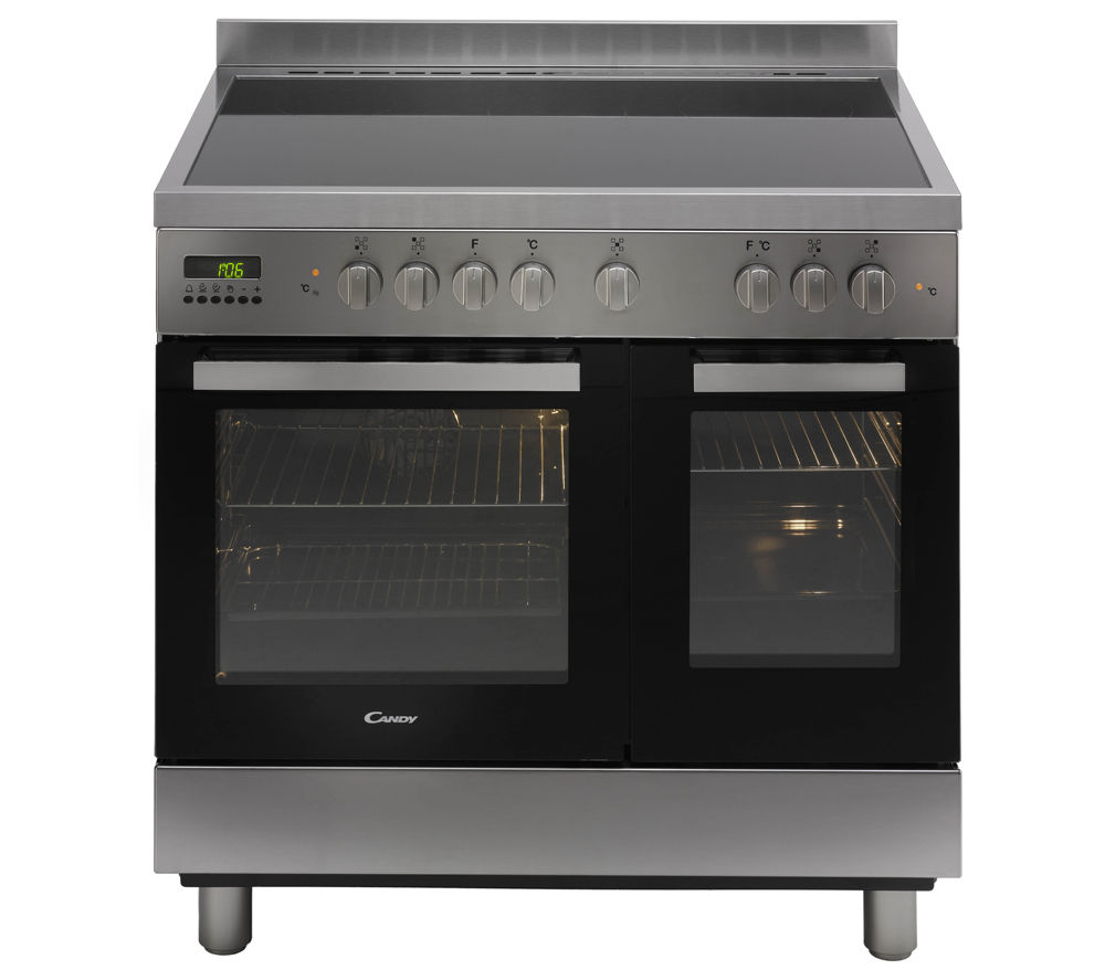 Image of CANDY CCV9D52X Electric Ceramic Range Cooker - Stainless Steel, Stainless Steel