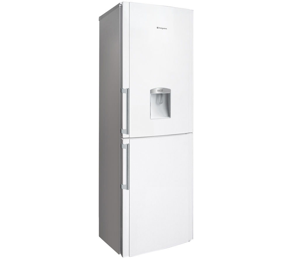 HOTPOINT FFLAA58WDW 60/40 Fridge Freezer - White + WMFUG742P SMART Washing Machine - White
