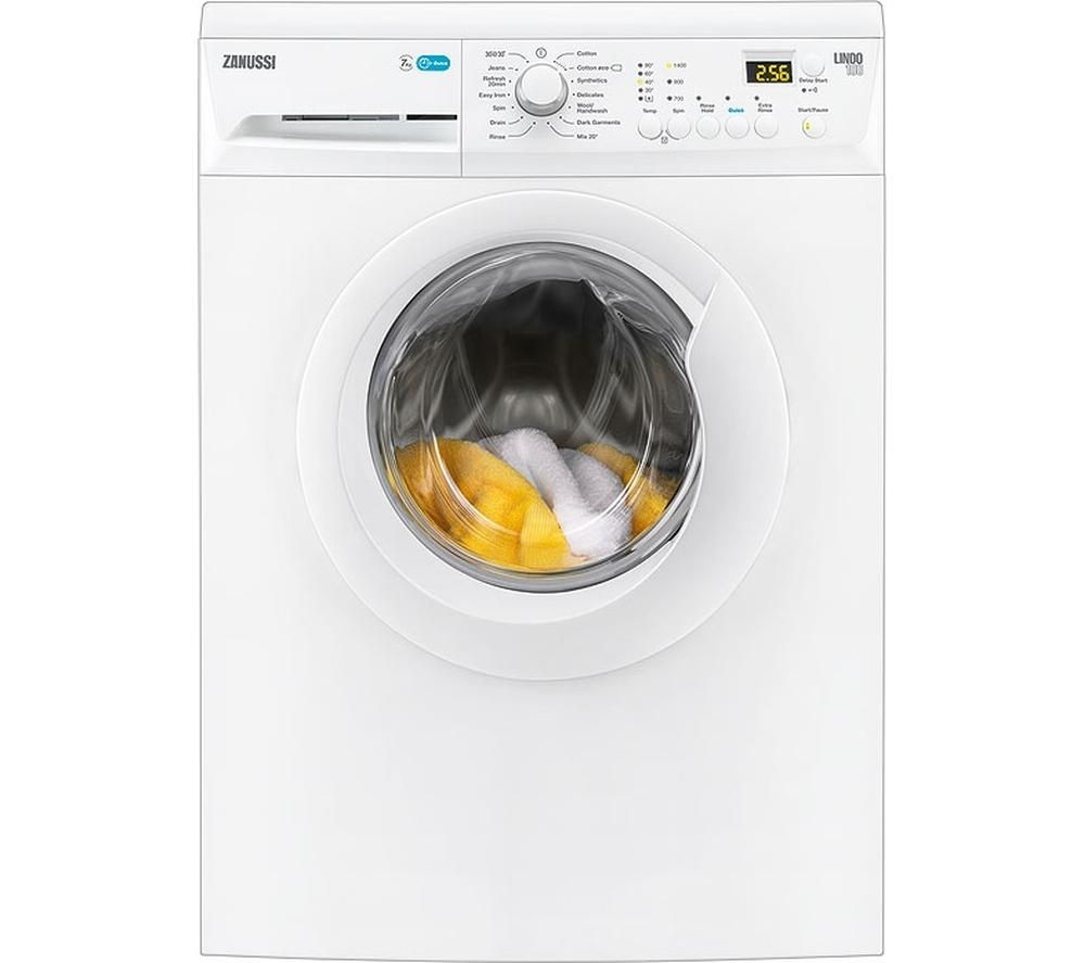 ZANUSSI ZWF71443W Washing Machine – White, White