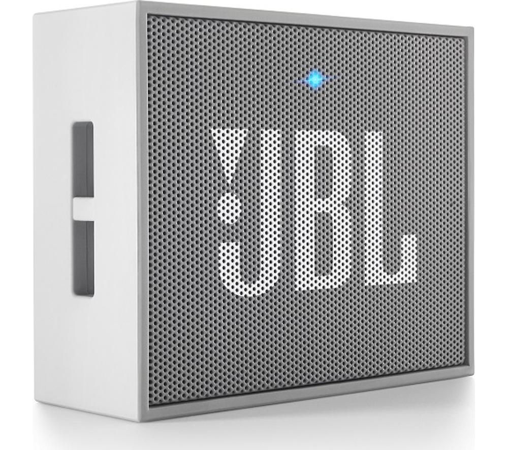 buy jbl go portable wireless speaker grey free delivery currys. Black Bedroom Furniture Sets. Home Design Ideas