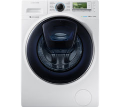 SAMSUNG AddWash WW12K8412OW/EU Washing Machine - White