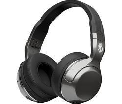 SKULLCANDY Hesh 2.0 Wireless Bluetooth Headphones - Silver & Black