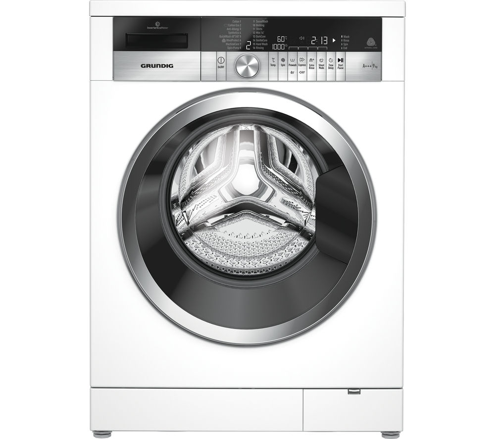 GRUNDIG GWN49460CW Washing Machine - White