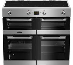 Cuisinemaster CS100D510X Electric Induction Range Cooker - Stainless Steel