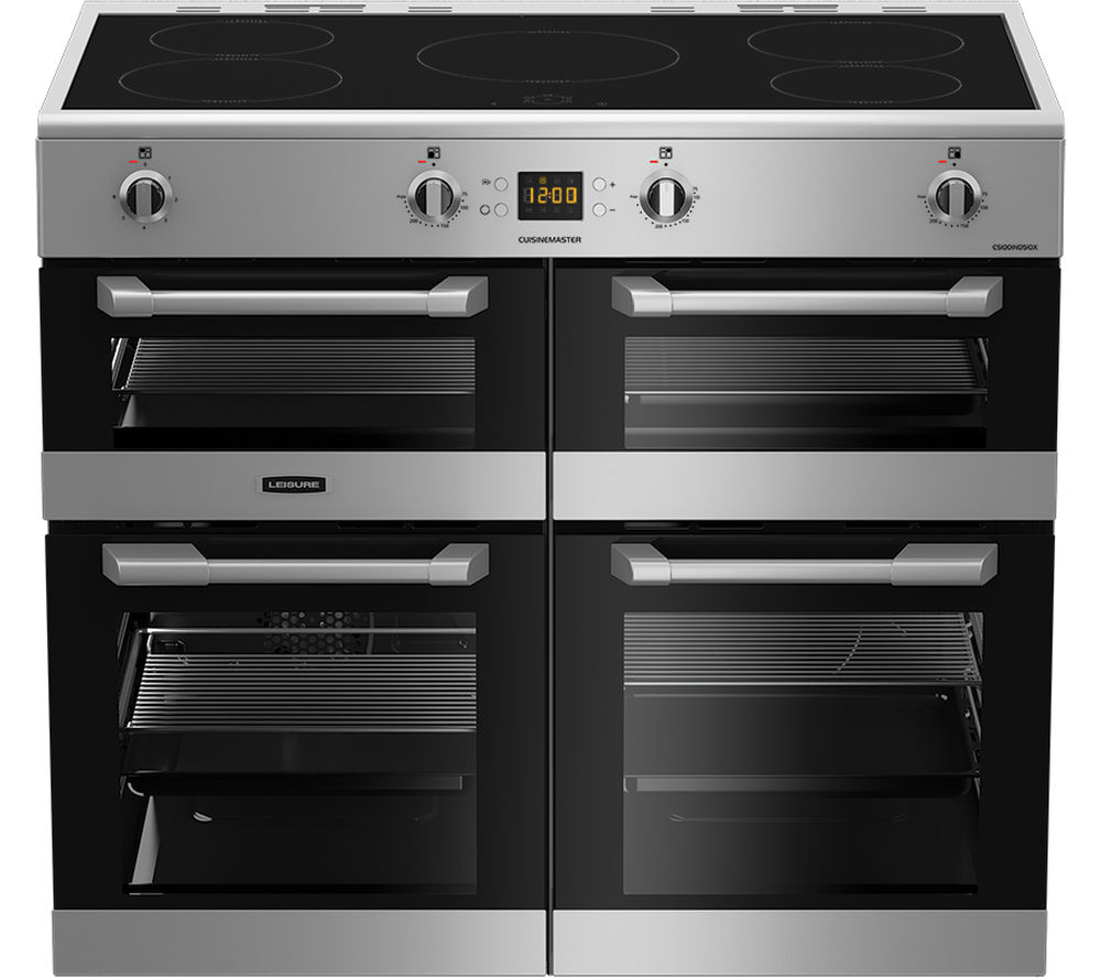 LEISURE Cuisinemaster CS100D510X Electric Induction Range Cooker - Stainless Steel