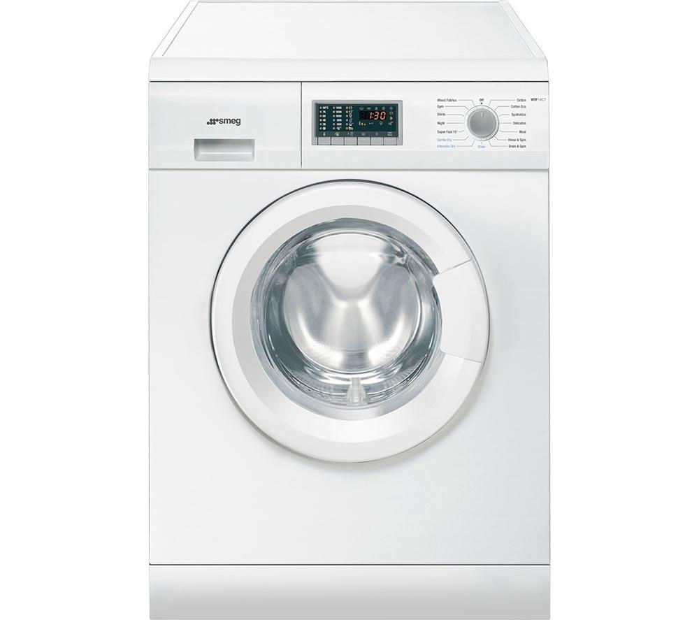 SMEG Washer Dryer WDF14C7  – White, White