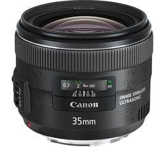 CANON EF 35 mm f/2 IS USM Standard Prime Lens