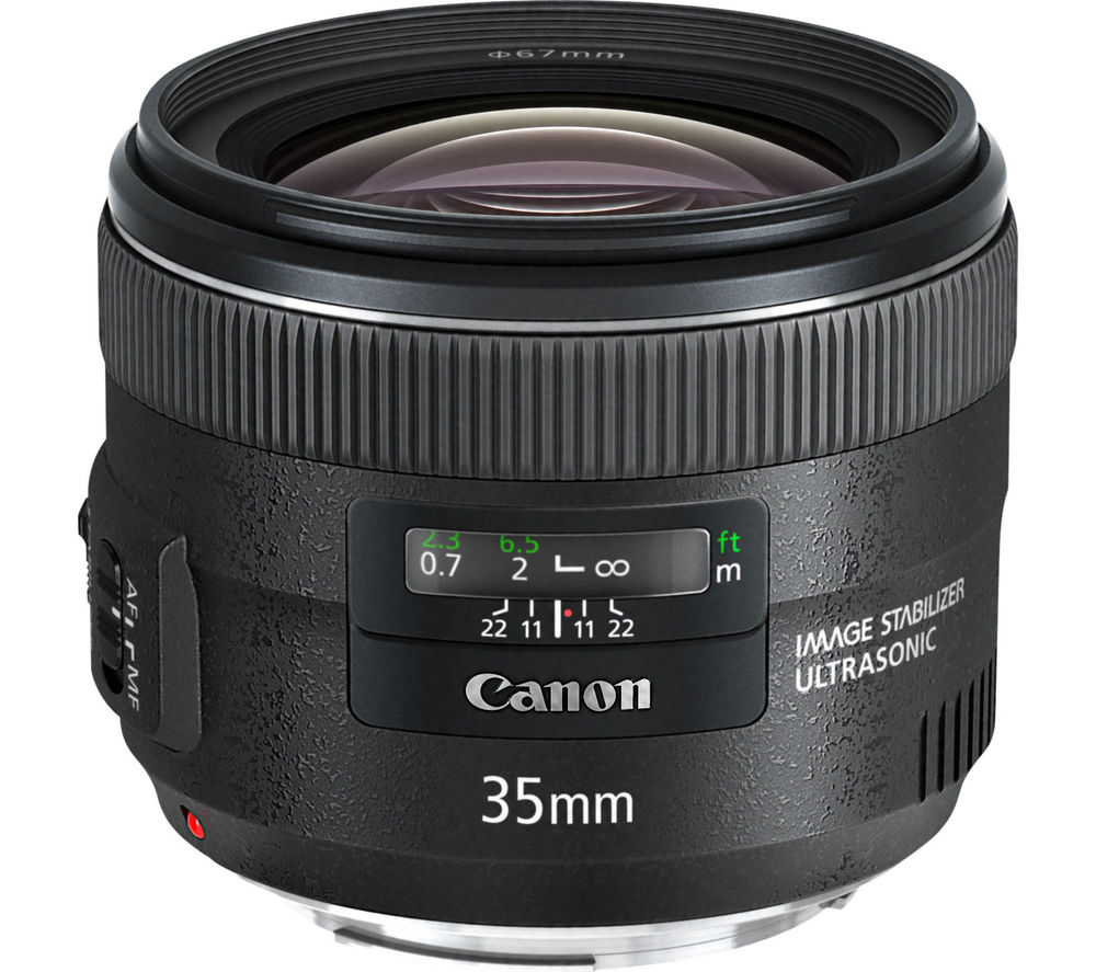 CANON EF 35 mm f/2 IS USM Standard Prime Lens