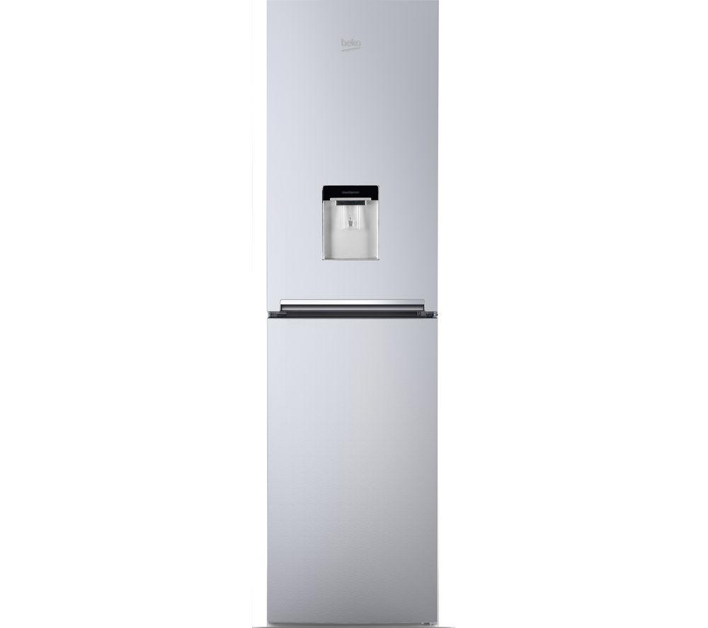 Beko CFG1582DS Fridge Freezer - Silver