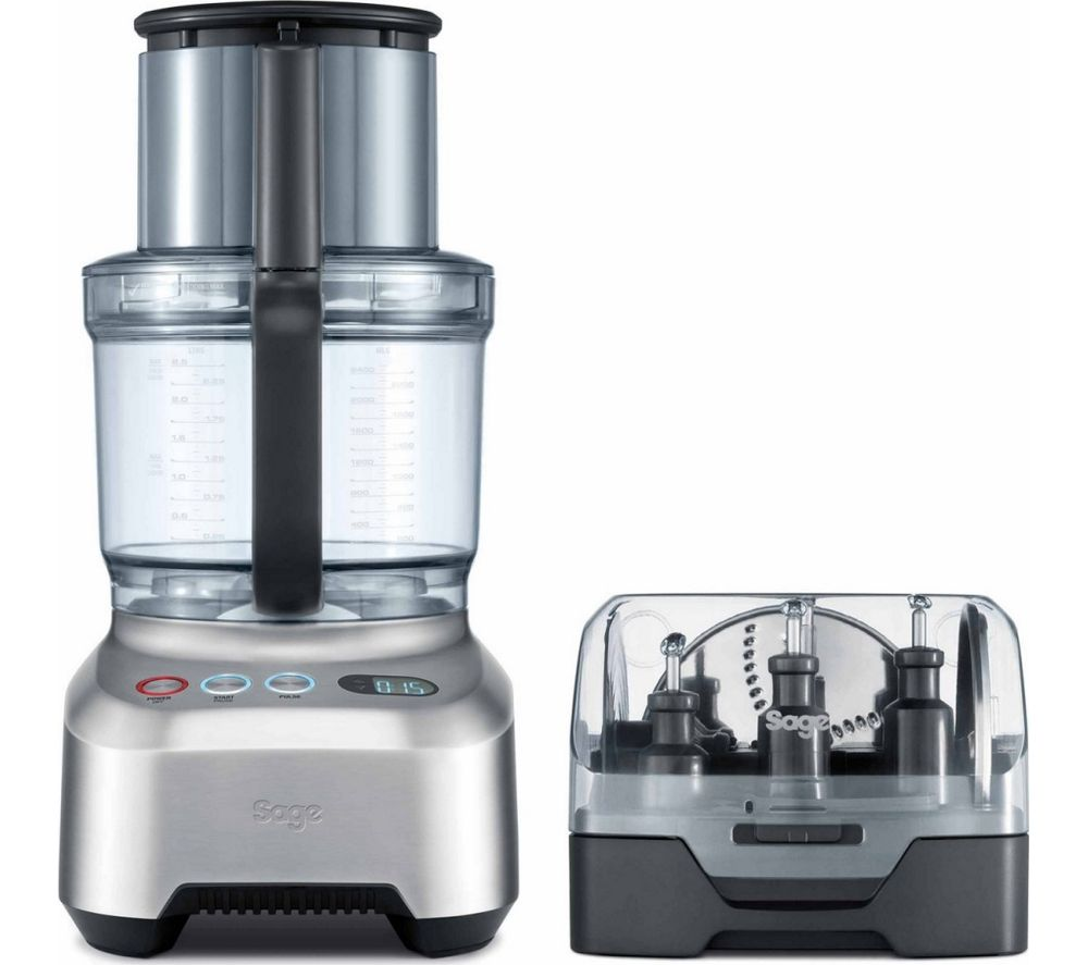 SAGE by Heston Blumenthal Kitchen Wizz Pro BFP800UK Food Processor - Silver