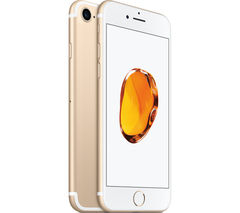 APPLE iPhone 7 - Gold, 128 GB
