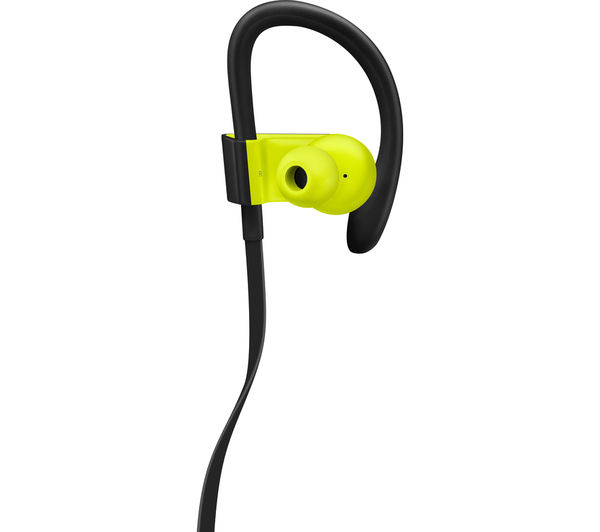 buy beats by dr dre powerbeats3 wireless bluetooth headphones shock yellow free delivery. Black Bedroom Furniture Sets. Home Design Ideas
