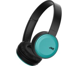 JVC HA-S30BT-A-E Wireless Bluetooth Headphones - Teal