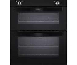 NW701DO Electric Built-under Double Oven - Black
