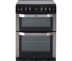BELLING FSG 60 DOP STA 60 cm Gas Cooker - Stainless Steel