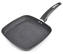 TOWER T80336 25 cm Non-stick Grill Pan - Graphite