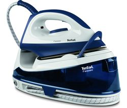 TEFAL Fasteo SV6040 Steam Generator Iron - Blue & White