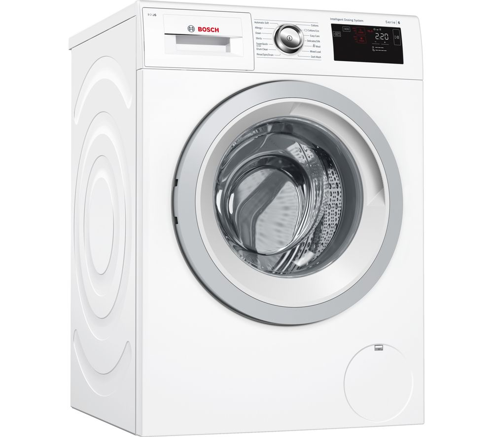 buy bosch serie 6 wat28661gb 8 kg 1400 spin washing machine white free delivery currys. Black Bedroom Furniture Sets. Home Design Ideas
