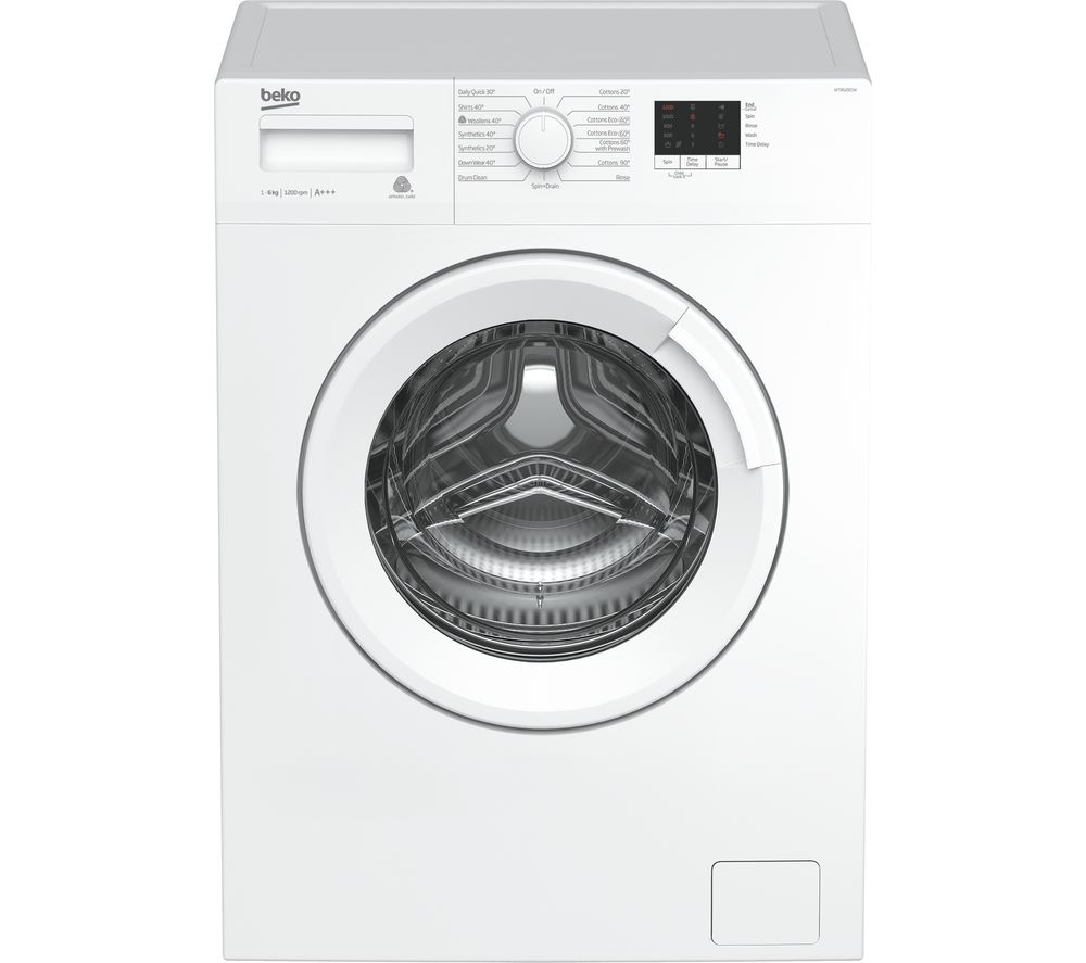Image of BEKO WTB620E1W 6 kg 1200 Spin Washing Machine - White, White